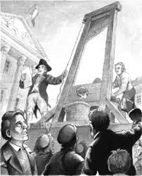 The Guillotine Used During the Terror of the French Revolution