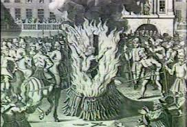 The Faithful Church Opposed the Inquisition and Perished in